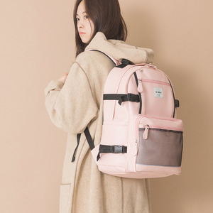 LE20FPK Secret backpack 레더 백팩 핑크